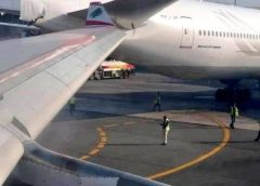 MEA A330 COLLIDES WITH TURKISH AIRLINES B777 AT LAGOS